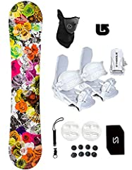 This all-mountain board offers impressive performance at an affordable price. With a tough yet lightweight wood core and Hybrid Camber profile, it's a great choice for intermediate or beginning boarders. SPECS/FEATURES: Length: 140 cm Camber:...