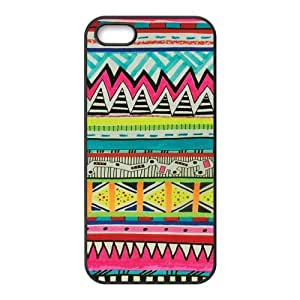 Aztec tribal Design For iPhone 5, 5S Csae TPU protection Case HYH692955