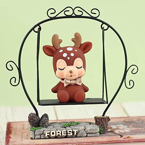 Sooiy Corea del corazón Lindo Piggy Piggy Animado Ciervos ...
