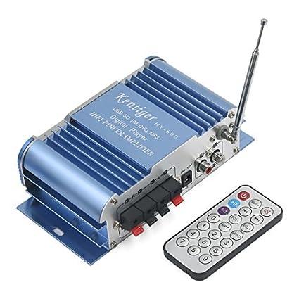 Amazon.com: eDealMax 2 Canales de alta fidelidad de Radio FM ...