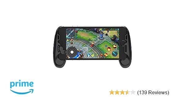 GameSir F1 Grip Game Controller Mobile Joystick Gamepad , Ergonomic Design Handle Holder Handgrip Stand for PUBG Fortnite Red Dead: Redemption, ...