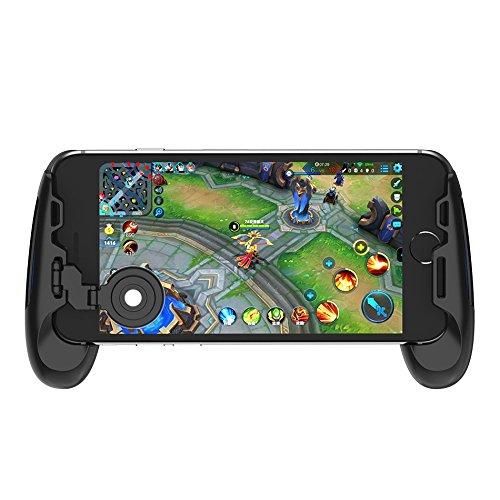 GameSir F1 Grip PUBG Game Controller Mobile Joystick Gamepad, Ergonomic Design Handle Holder Handgrip Stand, Support 5.5''-6.5'' Smartphone (Black)