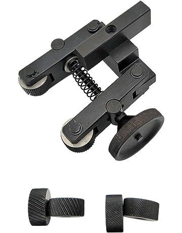 sourcingmap/® Roues diam/ètre 26 mm /à double hauteur 1.0mm noir Outil moletage moleter lin/éaire