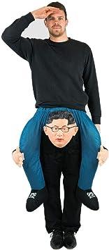 Bodysocks® Disfraz a Hombros (Carry Me) de Kim Jong-un para Adulto