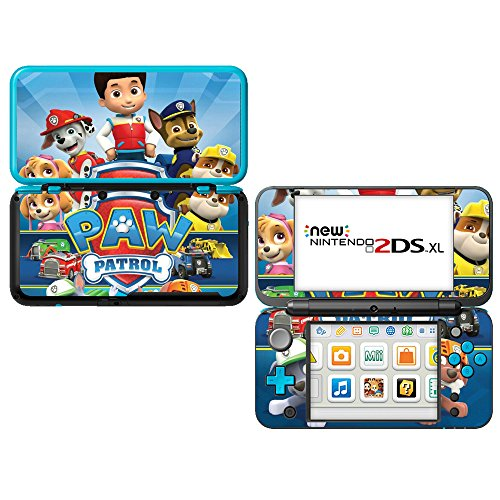 """Decals Plus Skin Cover Sticker Wrap for the """"New"""" Nintendo 2DS XL LL"""