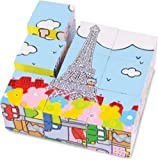 Vilac Baby Shape and Color Recognition Toy, Leon The Cat in Paris, Baby & Kids Zone