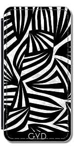 Funda Carcasa Cubierta de PU Cuero para Samsung Galaxy S3 Mini (GT-I8190) - Cebra by juni