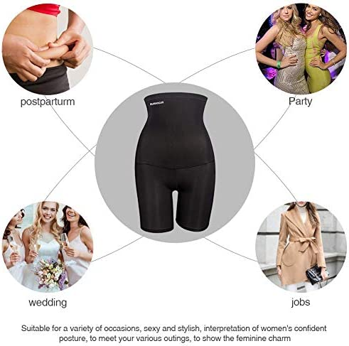 Burvogue Shapewear for Women Tummy Control-Butt Lifter High Waisted Shaper Shorts