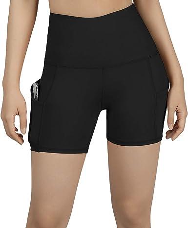 Tummy Control Premium Workout Athletic Yoga//Shorts /& Mid-Rise Fashion Shorts