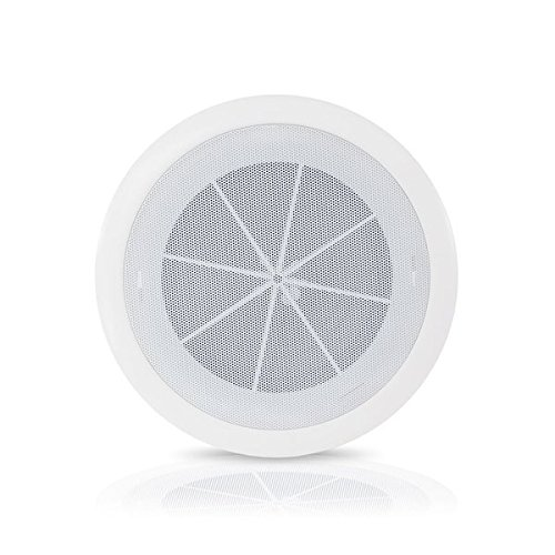 "6.5"" Ceiling Wall Mount Speakers - Full Range Woofer Speaker System 1.5'' Tweeter Cup Flush Design w/60Hz-16kHz Frequency Response 120 Watts Peak & Template for Easy Installation - Pyle PDICS6 by Pyle"
