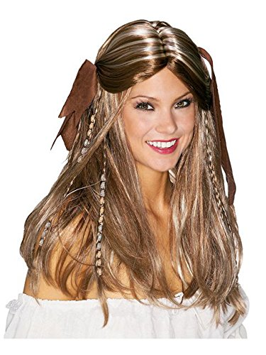 Pirate Wench Wig Costume Accessory]()