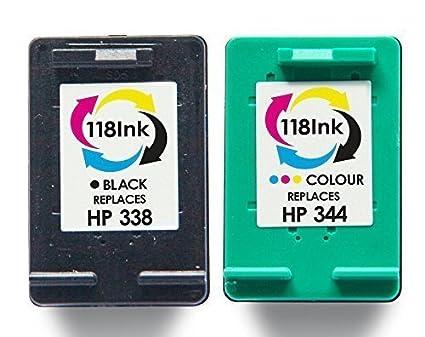 HP 344 rellenados y 338 paquete doble cartuchos de tinta, HP ...