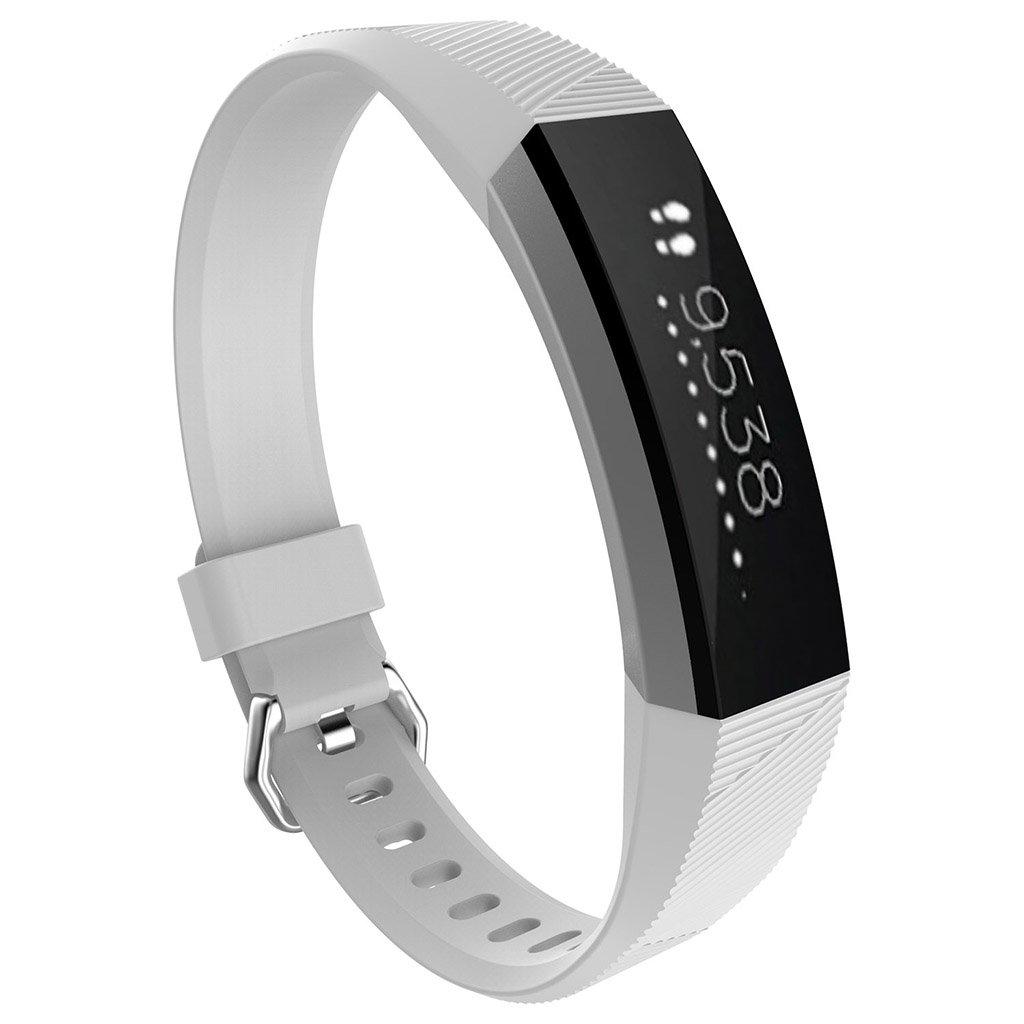 For Fitbit ALTAアルタ/HR多くのカラー交換用リストバンドストラップW /バックルバングルLarge Small for Fitbit ALTAアルタHR / 12 +交換用シリコン手首バンドストラップバックル Small ホワイト B073V3BF4G