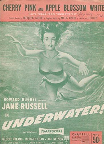- JANE RUSSELL Sheet Music Soundtrack Cherry Pink and Apple Blossom White