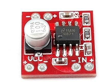 Amazon com: Taidacent 5 pcs lot LM4871 Audio Amplifier Mono
