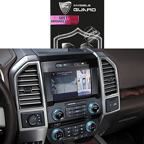 IPG for Ford F-150 Focus Edge Everest Expedition Explorer Mondeo Taurus Touch Screen Navigation Protector Invisible Ultra HD Clear Film Anti Scratch Skin Guard - Smooth Self-Healing/Bubble -Free