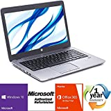 "HP EliteBook 840 G2 Intel i5 Dual Core 2300MHz Windows 10 Professional 64 Bit 500Gig Serial ATA 8192mb DDR3 NO OPTICAL DRIVE 14.0"" WideScreen LCD Microsoft Office 365 30-Day Trial Laptop Notebook"