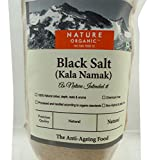 Nature Organic Black Salt 8.81 Ounce- USDA