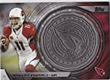 2014 Topps Nfl Commemorative Kickoff Coin Larry Fitzgerald Arizona Cardinals