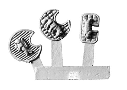 Amazon com: Xyston 15mm: Scythian Ornate Shields (24): Toys