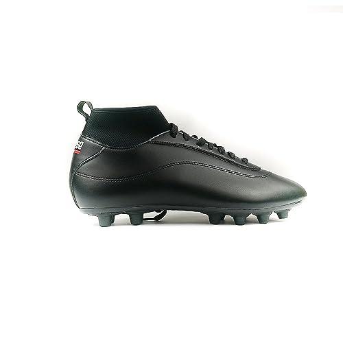 7f1e7e4175331 Danese – League PRO DF FG Scarpa Calcio Artigianale Nero Nero Made in Italy  –