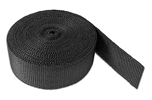 (Thermo-Tec Products 11071 Rogue Series Ricochet Exhaust Insulating Wrap 1 in. x 50 ft. Black Rogue Series Ricochet Exhaust Insulating Wrap)