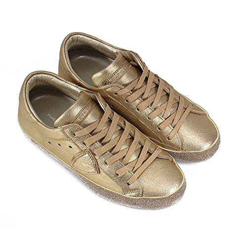 Philippe Model Women's CGLDML24 Gold Leather Sneakers sale shopping online cheap sale best seller enjoy shopping buy cheap best outlet latest collections 49EqEajRPb