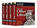 img - for Office 2007 Library: Excel 2007 Bible, Access 2007 Bible, PowerPoint 2007 Bible, Word 2007 Bible by John Walkenbach (2007-04-16) book / textbook / text book