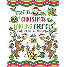Emoji Christmas Farting Animals Coloring Book