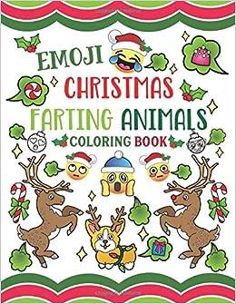 Emoji Christmas Farting Animals Coloring Book Nyx Spectrum