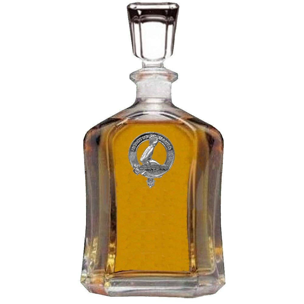 Armstrong Scottish Clan Badge Decanter