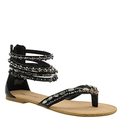 96d766c177a6 ZIGI SOHO Womens Talisa Split Toe Casual Ankle Strap Sandals