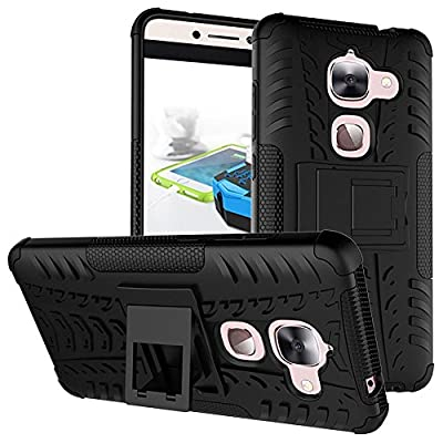 LeEco Le S3 Case, LeEco Le 2 Case, Skmy Shockproof Impact Protection Tough Rugged Dual Layer Protective Case Cover with Kickstand for LeTV LeEco Le 2 X620 / LeEco Le 2 Pro