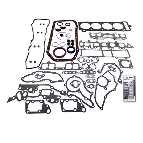 DNJ FGS9008M Full Gasket/Sealing Set 1983-1984 / Toyota/Celica, Pickup / 2.4L / SOHC / L4 / 8V / 2366cc / 22R, 22REC