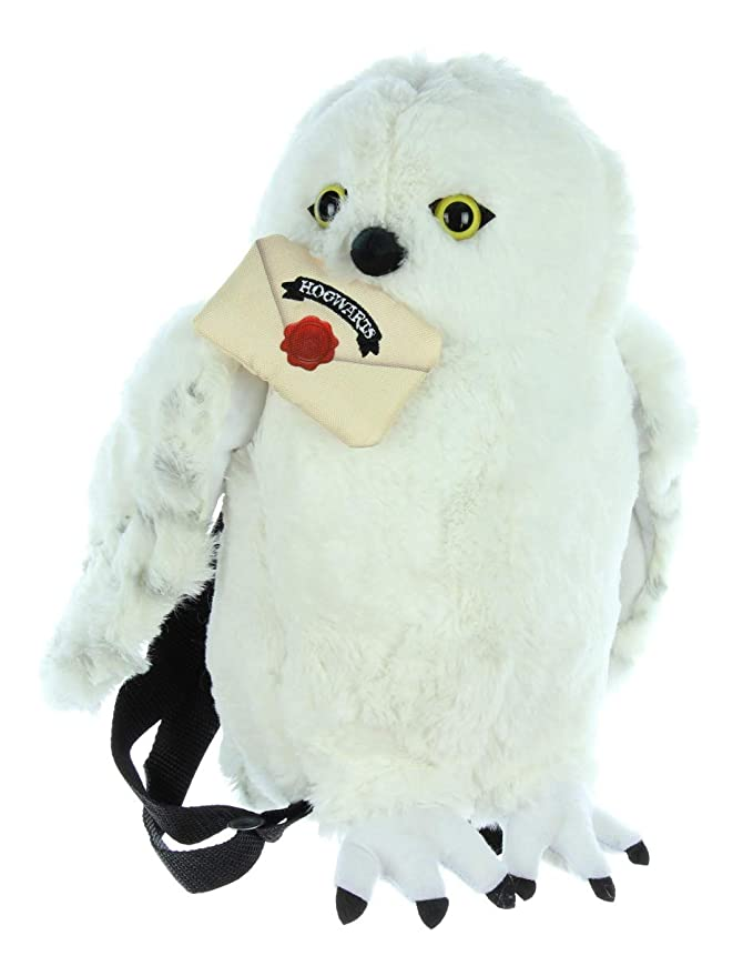 Harry Potter Hedwig Lechuza Mochila Peluche de felpa: Amazon ...
