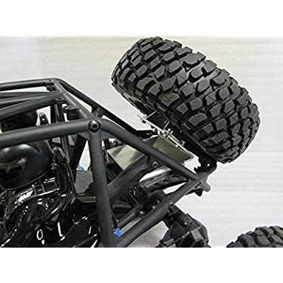 AMF Racing Axial Bomber RR10 Spare Tire Relocation Kit: Toys & Games