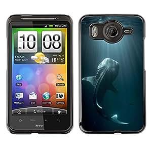 SKCASE Center / Funda Carcasa - Monster Fish Blue Nature buceo;;;;;;;; - HTC G10