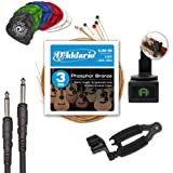 D'Addario and Planet Waves Acoustic Guitar Accessories, Players Pack