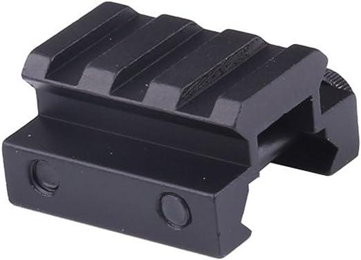 Adattatore Adattatore Base per Il Montaggio dellambito con Dado QD Estensione ToopMount Slot per Binario Alluminio 20mm Weaver//Picatinny