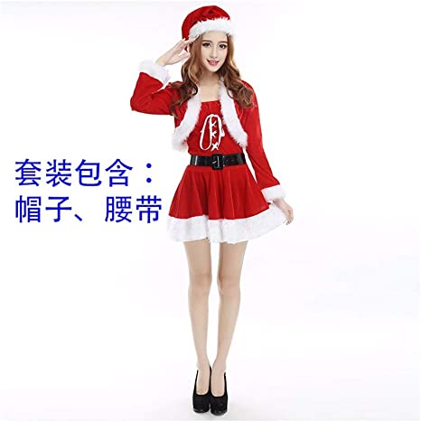 SDLRYF Disfraz De Papá Noel Navidad Santa Claus Traje Traje De ...
