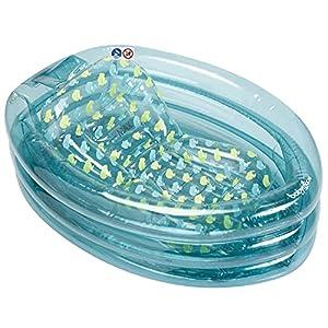 Babymoov Bañera hinchable y evolutiva con tumbona inflable y amovible integrada, color azul