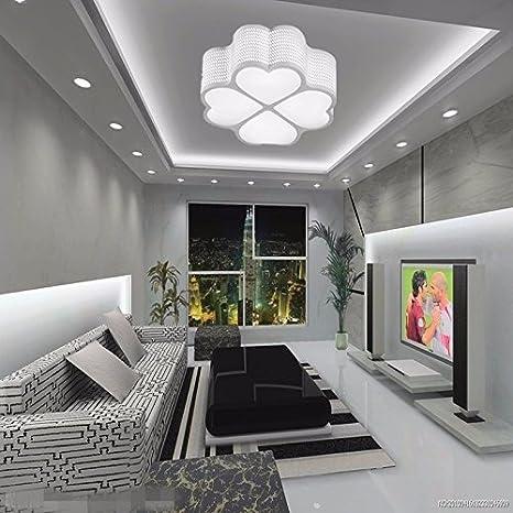 LPLFCeiling Casa Dormitorio moderno luces de LED luces de ...