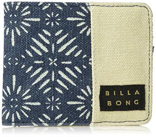 (Billabong Men's Tides Bi-Fold Wallet Navy One Size)