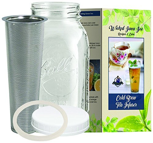 6 c Cold Brew Iced Tea Infuser Brewer - Make Amazing Ice Tea
