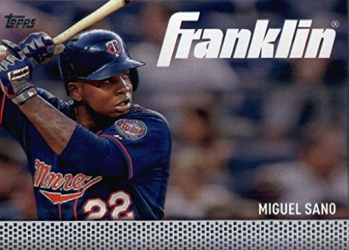 2016 Topps Update Team Franklin #TF-18 Miguel Sano Minnesota Twins Baseball Card in Protective Screwdown Display Case ()