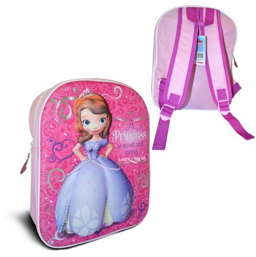 Sofia The First Costume Ideas (Disney Sofia The First '3D' Junior Backpack Bags)