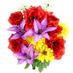 Admired-By-Nature-14-Stems-Artificial-Full-Blooming-Rose-Lily-Gerbera-Daisy-Greenery-Mixed-Bush-for-Home-Office-Wedding-Restaurant-Decoration-Arrangement-Spring-2-Pieces