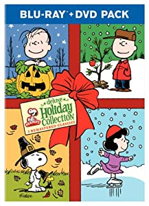 Peanuts Holiday Collection A Charlie Brown Christmas Its The Great Pumpkin Charlie Brown A Charlie Brown Thanksgiving Blu-ray by Warner Home Video
