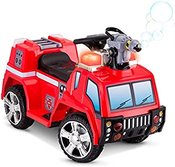 Kid Trax 6V Fire Rescue Quad Ride-On