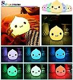 Jhua Portable Silicone LED Multicolor Night
